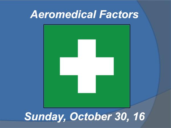 Aeromedical Factors