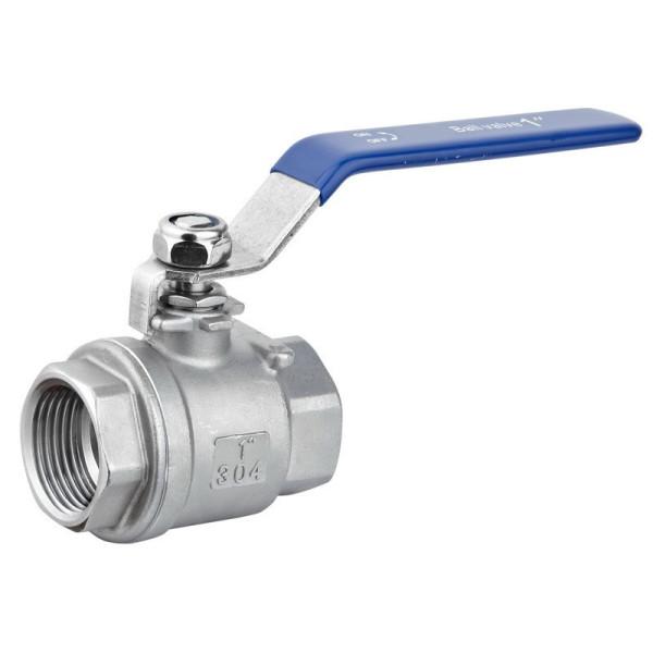 2 piece ball valve