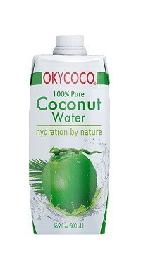 Real Pure Organic Coconut Water Drink 500ML