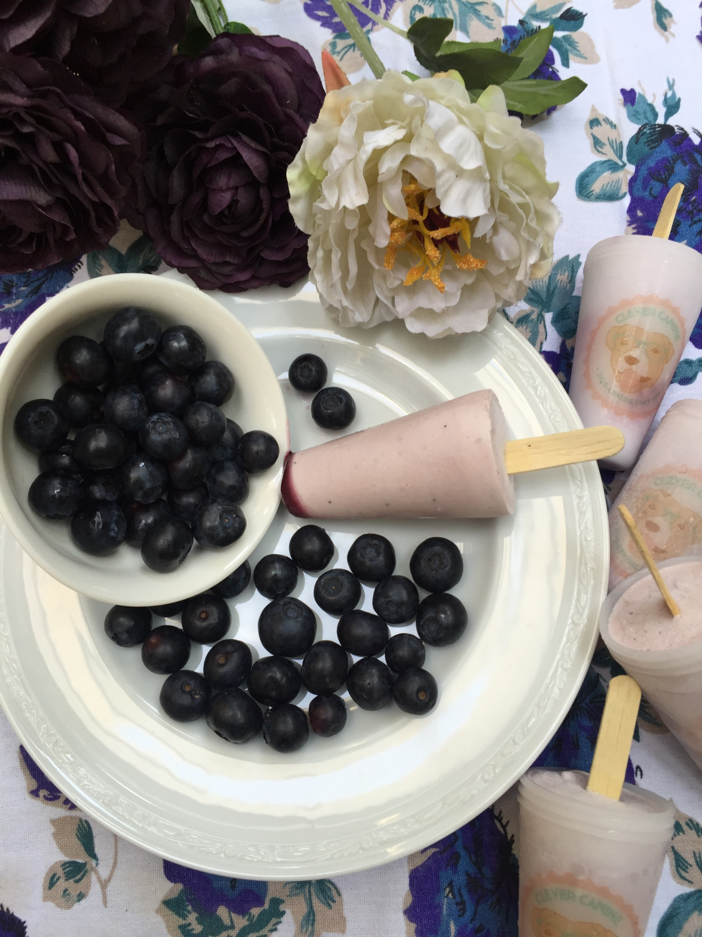 Lickin' Licious: Blueberry flavour
