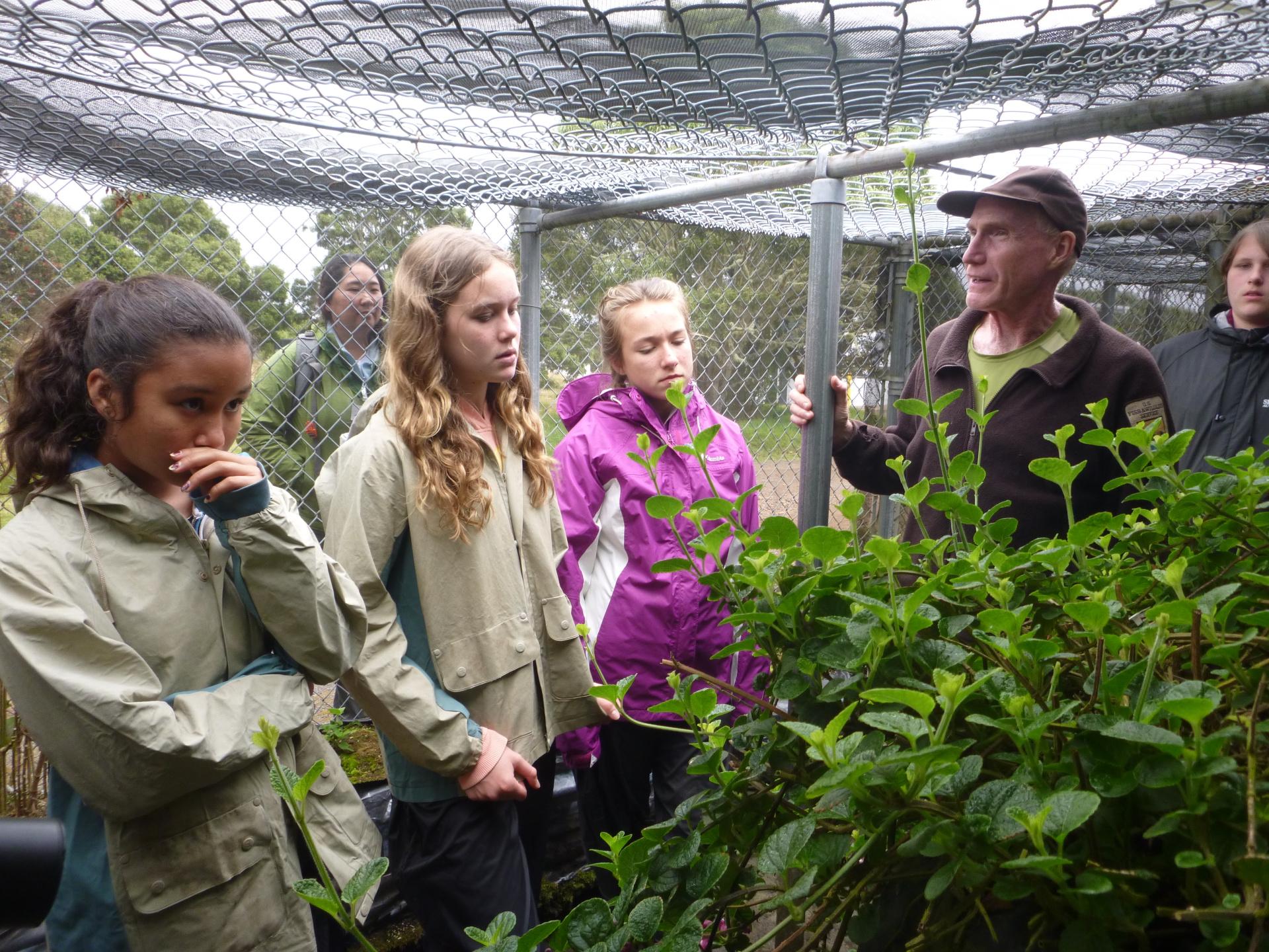 Teaching Change Program, Hakalau Forest National Wildlife Refuge