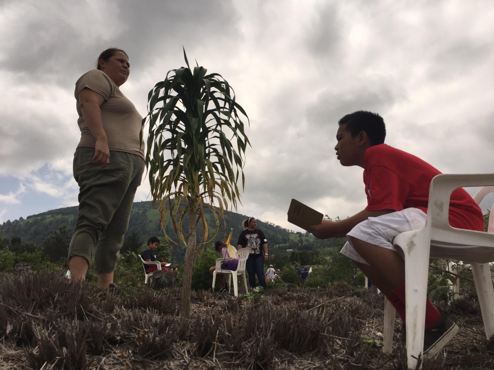 Teaching Change Program Bioblitz bio-cultural blitz Puuwaawaa PuʻuWaʻawaʻa Puʻu Waʻawaʻa