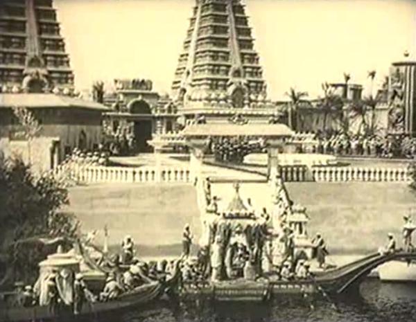 1921. Das Indische Grabmal, 2 Teil:  Der Tiger von Eshnapur