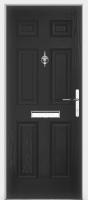 Traditional Vintage Composite Door