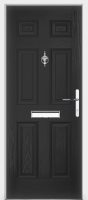 Traditional Vintage Composite Door
