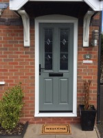 Traditional Black Composite Doors