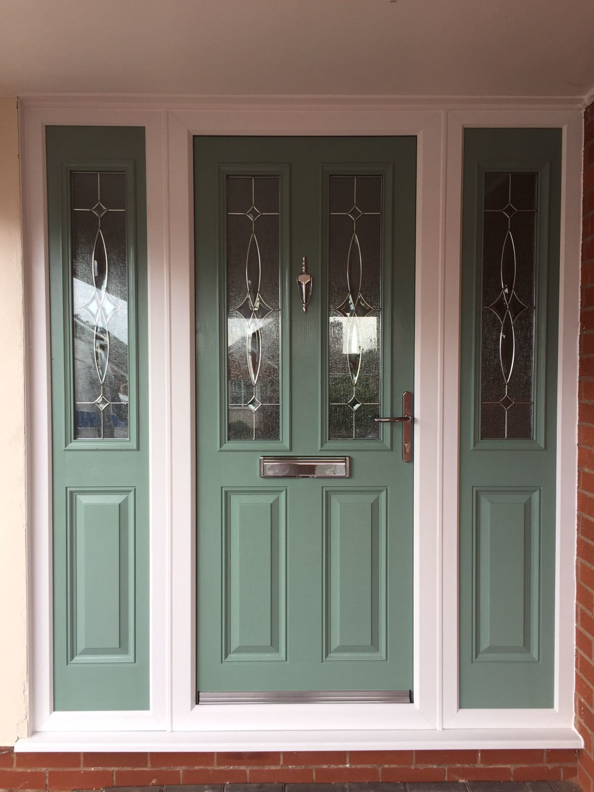 Side Panel Front Door Exterior Composite Doors
