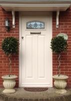 Traditional Composite Door White