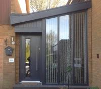 Glass Front Door Composite