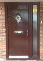 Rosewood Doors PVC Composite Door