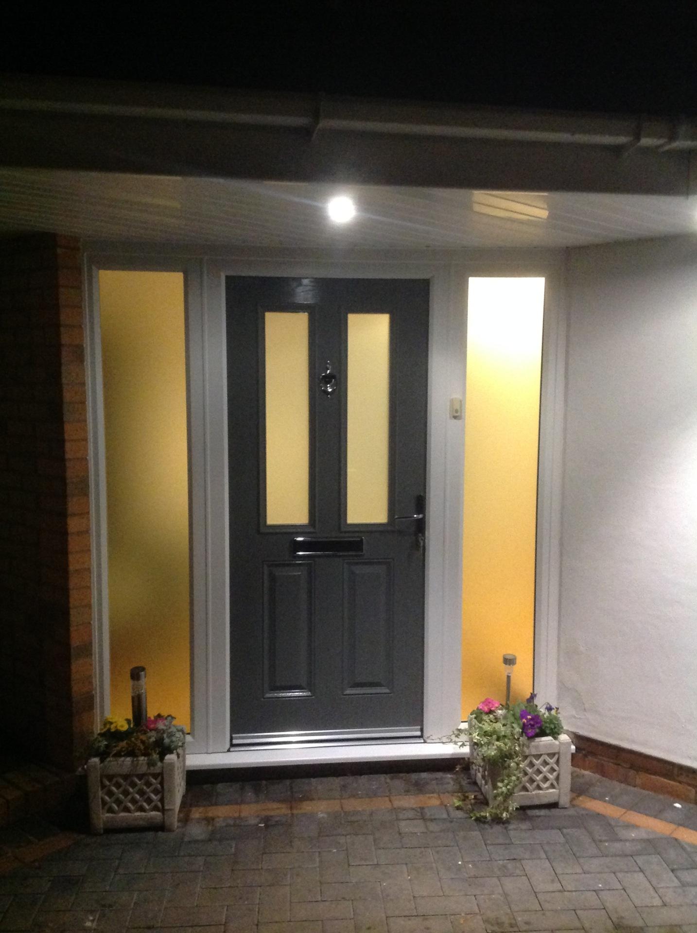 Traditional Vienna Style Composite Door UK