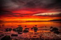MIDNIGHT SUN IN ICELAND