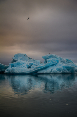 Ice rocks and Jokulsarslon