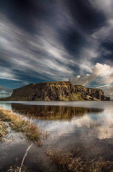 View towards Dyrhólaey