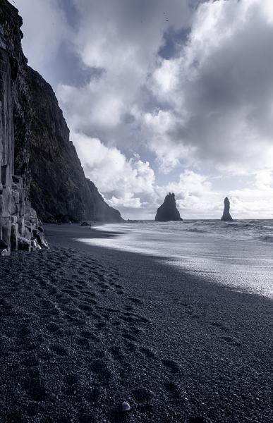 Black beach of Reynisfjara