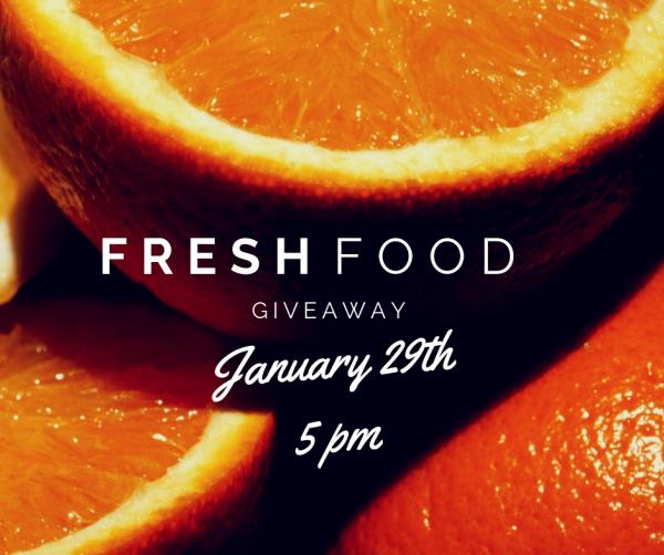 Fresh Food Giveaway