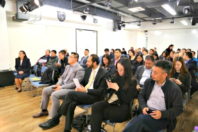 Nurturing young talent: Cambridge Judge Business School students visit Cocoon Networks