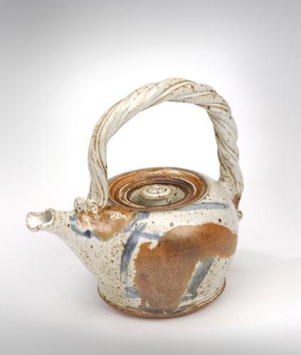 Teapot made at Sheridan College 1970