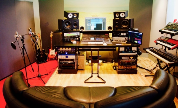 recording studio party