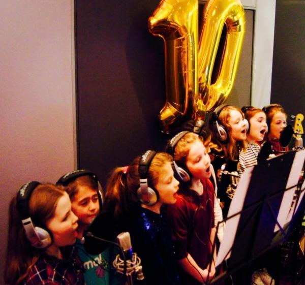 Kids 10th Birthday Singing Party