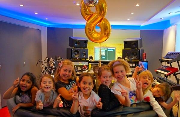 Recording Studio Birthday Party