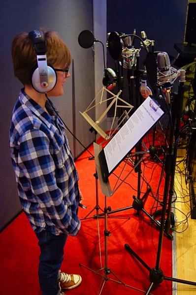 Solo Recording Session