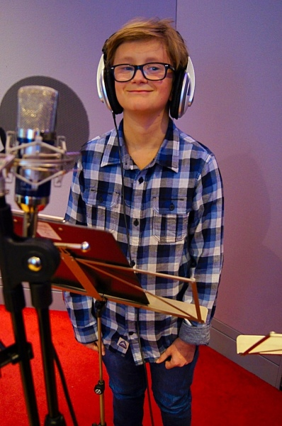 Recording Singing Session