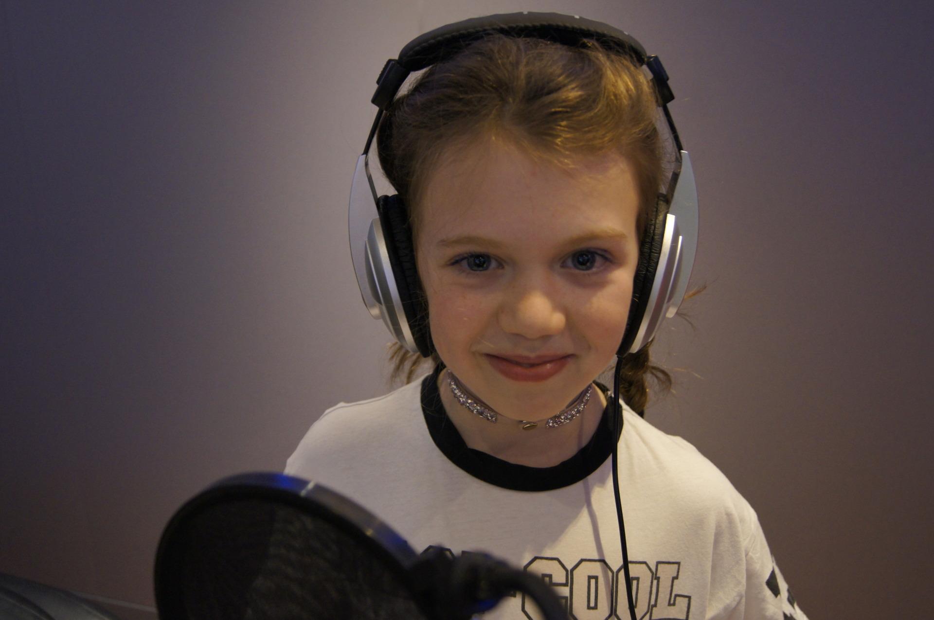 Recording Studio Singing Party