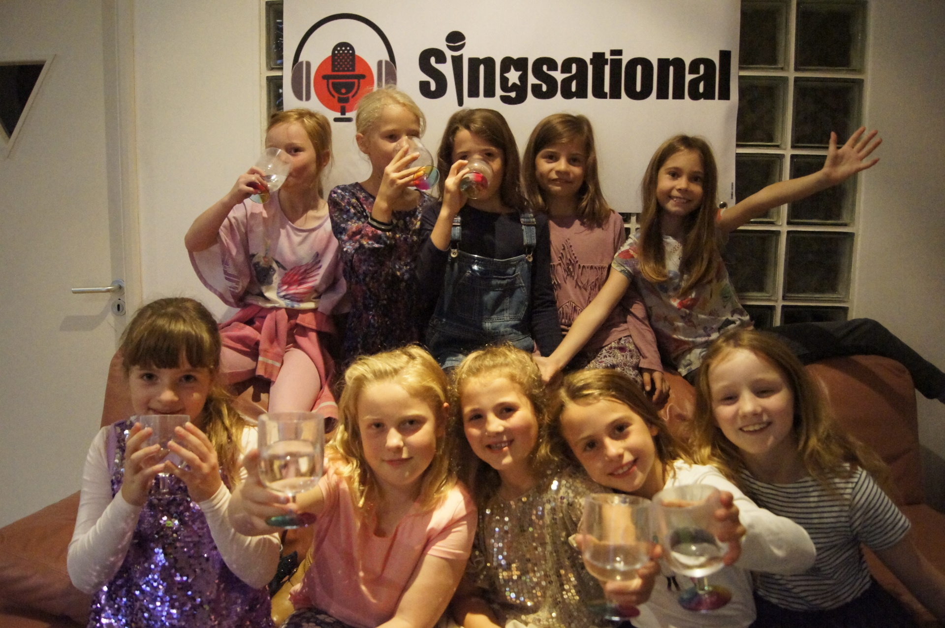 Birthday Party at Singsational Recording Studio