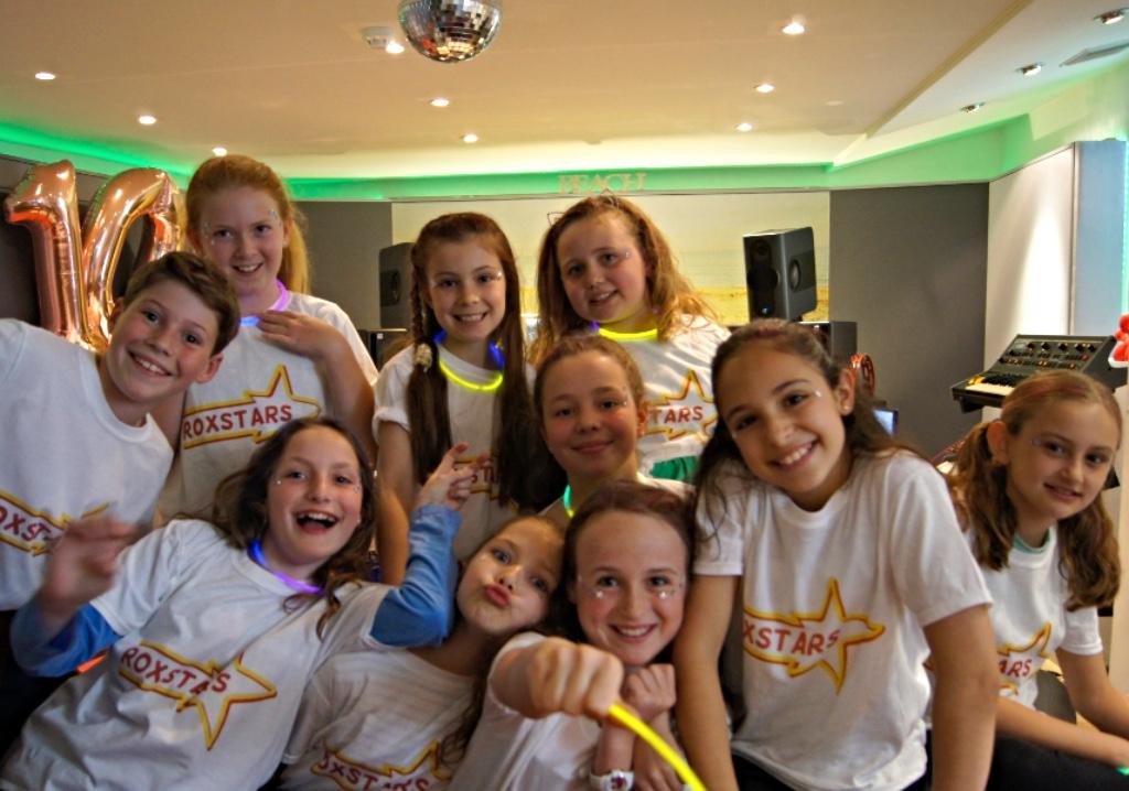 Kids Recording Studio Singing Party