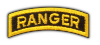 Army Airborne Rangers LRRPS Recon Tab Veterans Vets