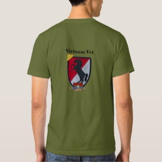 11th ACR, Cavalry, Vietnam War, vets, Shirts,