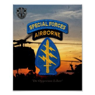 Special Forces, Green Berets, SFG, SF, JSOC, Special Ops, Army Rangers, Army, SF Posters, Posters, Phot Prints, ODA,