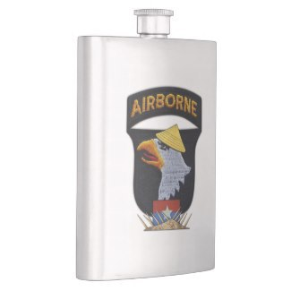 101st abn, screaming eagles, army, hamburger hill, FSB Ripcord, Vietnam War, Vets, Flasks,