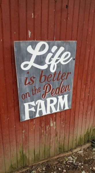 Images  from  Peden  Farm