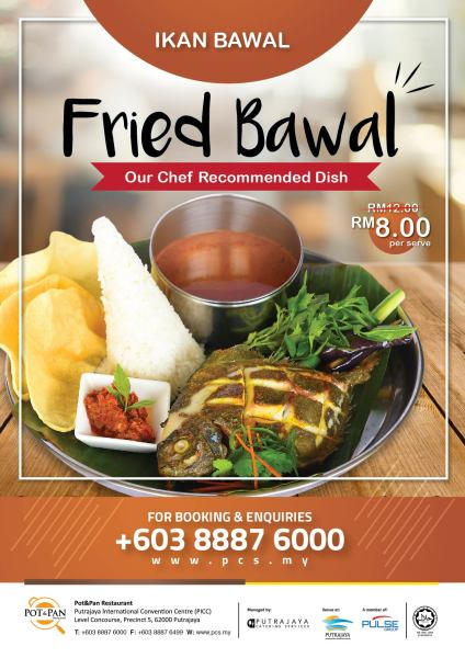 Fried Bawal