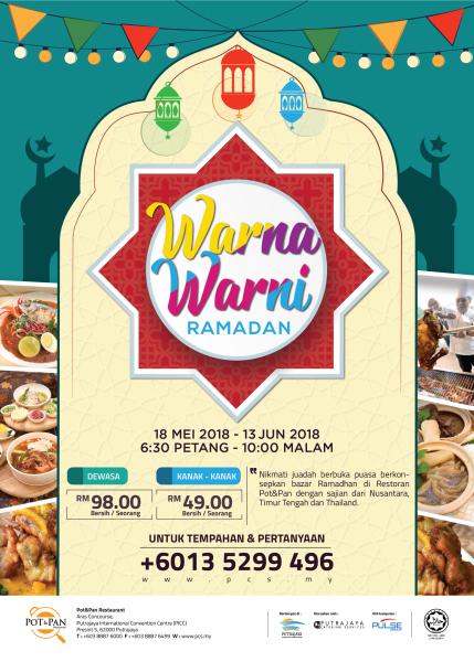 Warna Warni Ramadan at Pot&Pan Restaurant