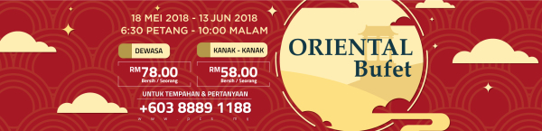 Oriental Buffet at Putrajaya Seafood Restaurant