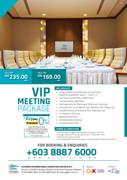 VIP Meeting Package