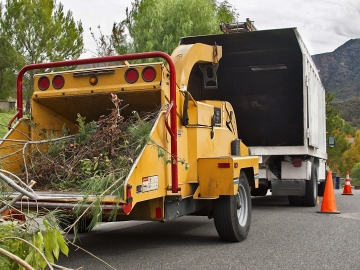 Woodchipping and waste removal