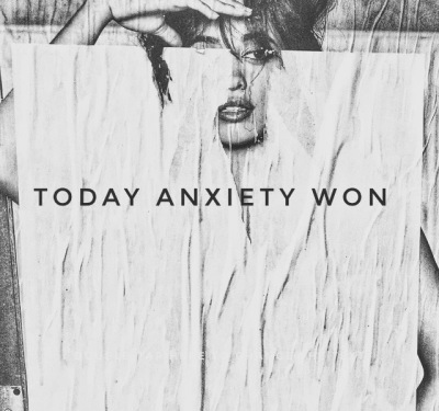 Why Anxiety Physically Wins...