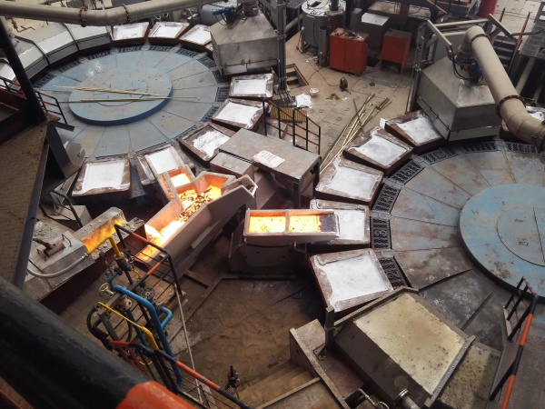 Twin Anode Casting Shop up