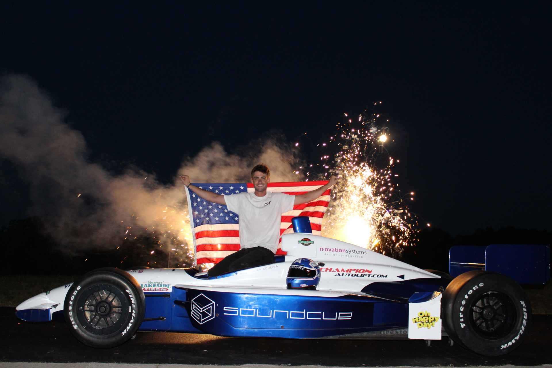 Alexander Koreiba IndyCar Driver