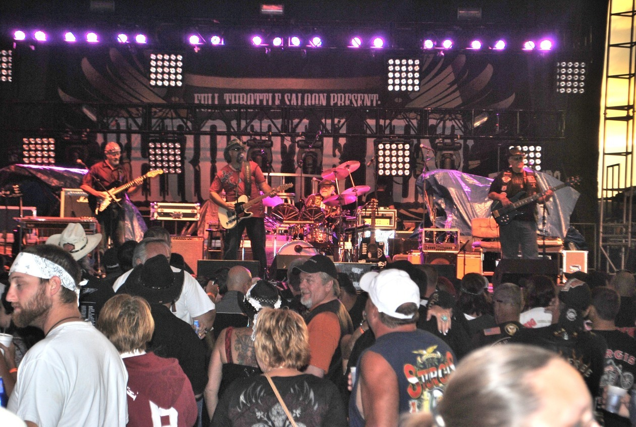 Opening for Big & Rich at Full Throttle Saloon - Sturgis