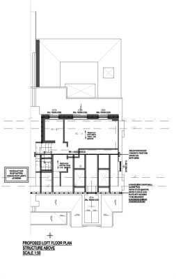aleur associates rear extension loft conversion East London Redbridge Lane loft conversion roof plan roof-light rafters timber drafting dormer full width