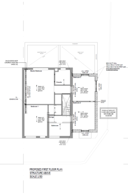 aleur associates southwark foundation plan box frame footings loft conversion