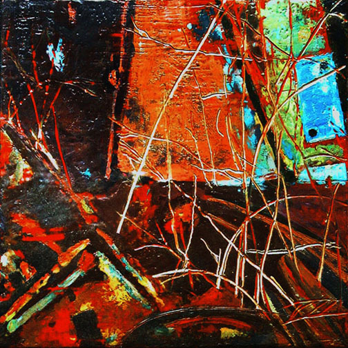 """Nothing Lasts Forever.....12""""x12"""".....SOLD"""