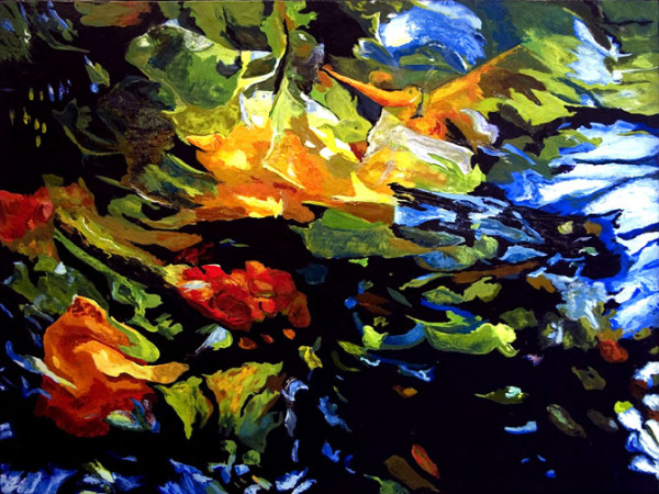 """A Time for all Seasons.....39.75""""x51.75"""".....SOLD"""