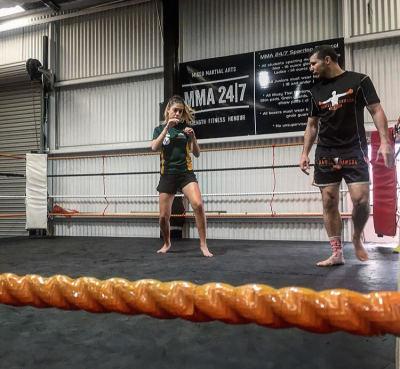 Like Coach, Like Fighter: Daniel Dawson & Alexia Johnson