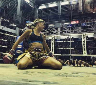 Inner Peace, Muay Thai & World Titles for Sandra Godvik